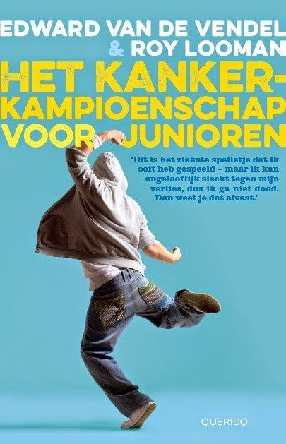 mooi eerlijk, recht-toe-recht-aan en toch ook met humor geschreven boek over een jongen die kanker krijgt. samenwerking schrijver Edward van de Vendel en Roy Looman (de jongen in kwestie, die het heeft overleefd) aanbevelenswaardig. #35/53