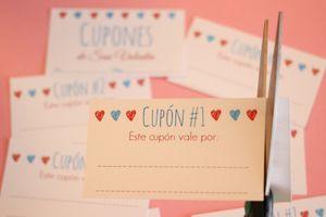 Cupones de San Valentín - © Ana Cabreira                                                                                                                                                      Más