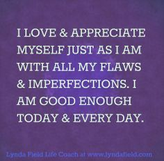 quote about i am good enough - Google Search