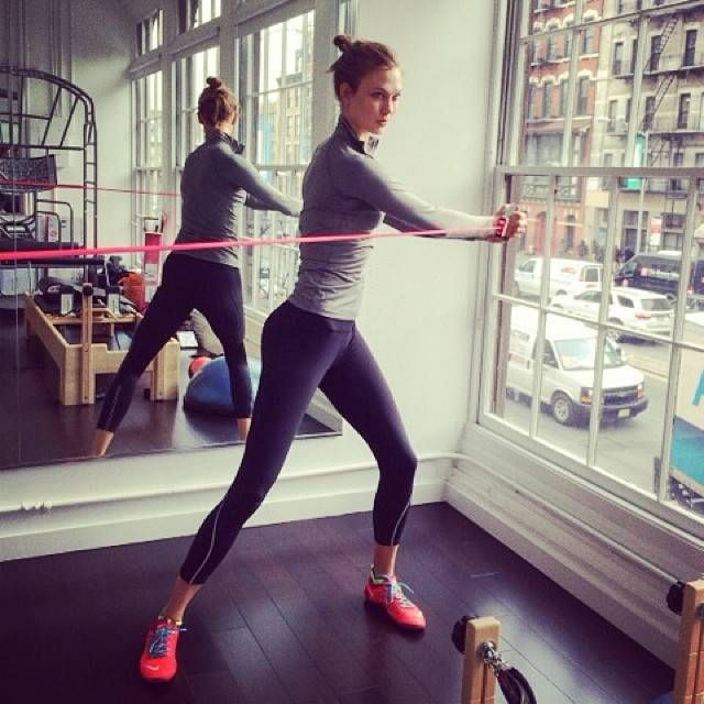This is what happened when one woman tried working out like model Karlie Kloss for a month: