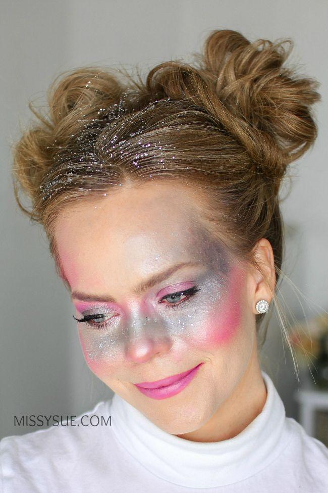 Galaxy Girl Glitter Brotchen In 2020 Frisuren Neue Frisuren Haarfarben