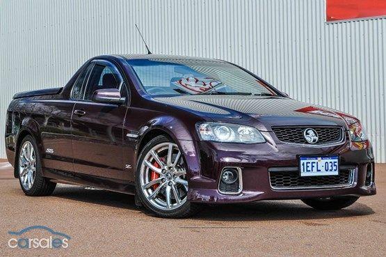 2012 Holden Ute VE Series II SS V Z Series MY12.5