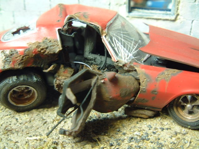 OUCH! Amazing Detailing | Scale Models | Plastic model cars, Model