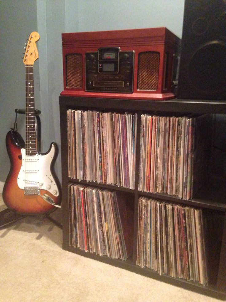 Ikea record storage 25 pinterest for Ikea lp storage