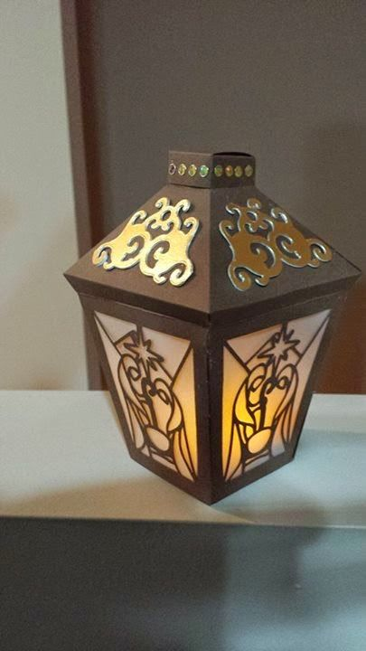 Awesome Svgs Manger Lantern 2014 Christmas Series