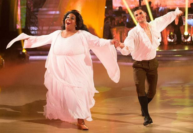 Strictly Come Dancing, Alison Hammond and Aljaz Skorjanec