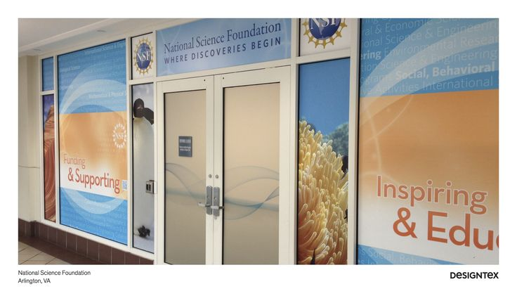 Corporate - window film and wallcovering