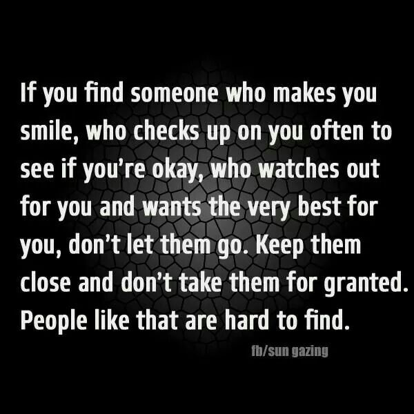 If you find somebody