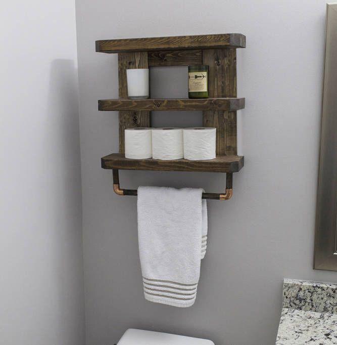Best 25 bathroom towel racks ideas on pinterest towel racks pallet towel rack and rustic for Wooden towel racks for bathrooms