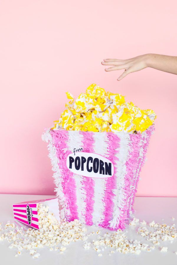 pop corn #piñata