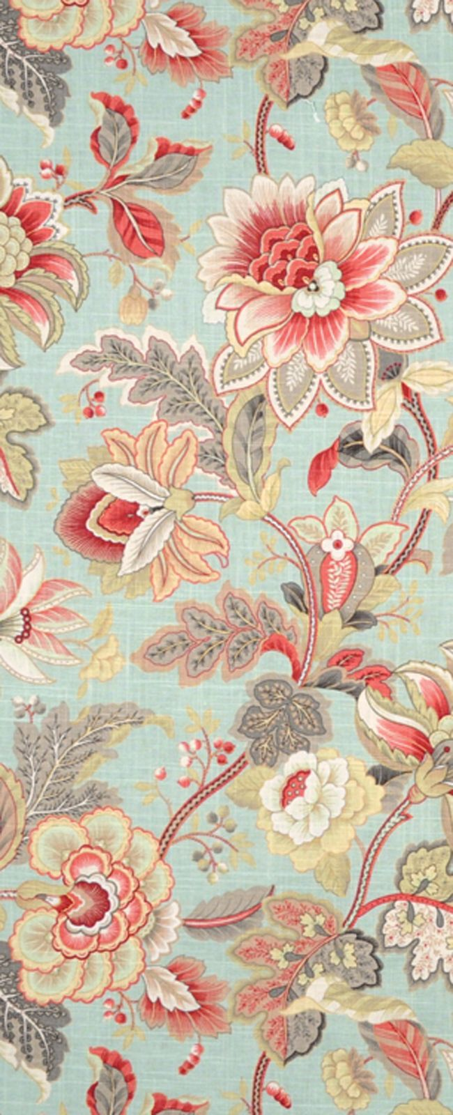 Blue, gray and pink room inspiration- Swavelle / Mill Creek Venezia Dew Fabric $22.35 per yard