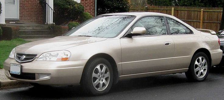 2001 Acura CL 3.2 Type-S 3.2 (3.2L V6 5-speed Automatic)
