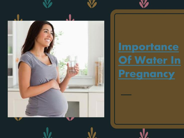 Know about #ImportanceOfWaterInPregnancy and many more about healthy pregnancy.