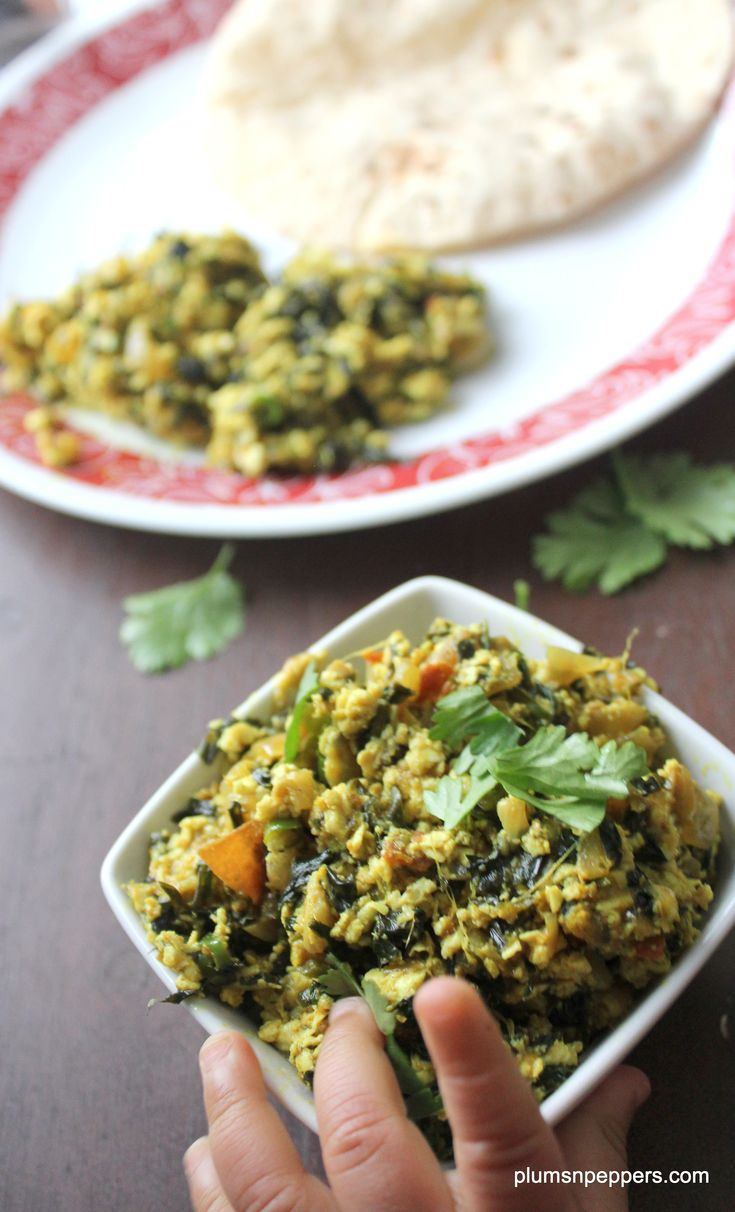 Methi Paneer Bhurji, an easy and healthy recipe for your breakfast lunch or dinner