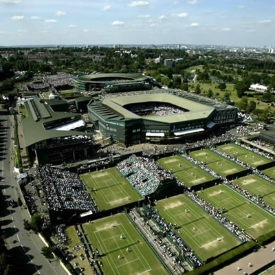 Wimbledon So glad I got to tour this lovely place...someday maybe I can go during the championships!