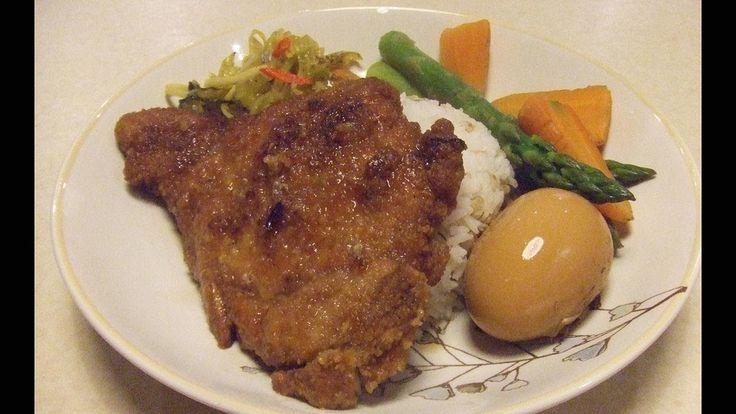 Pork Chop Rice Taiwanese Style 台灣排骨飯