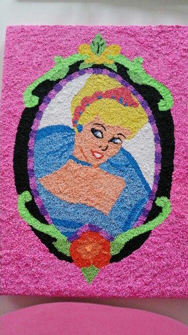 DIY Foam Clay Cinderella