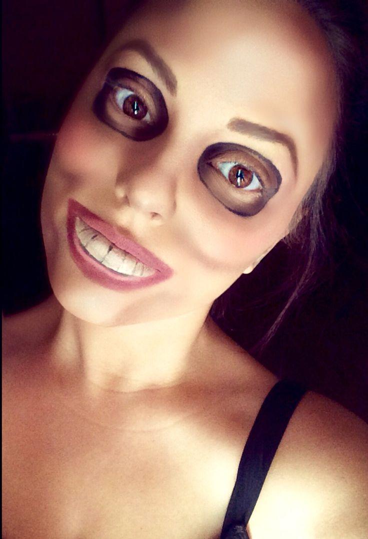 The Purge Mask Makeup. #Halloween #ThePurge #Makeup | Beauty-ful | Pinterest | Halloween Masks ...