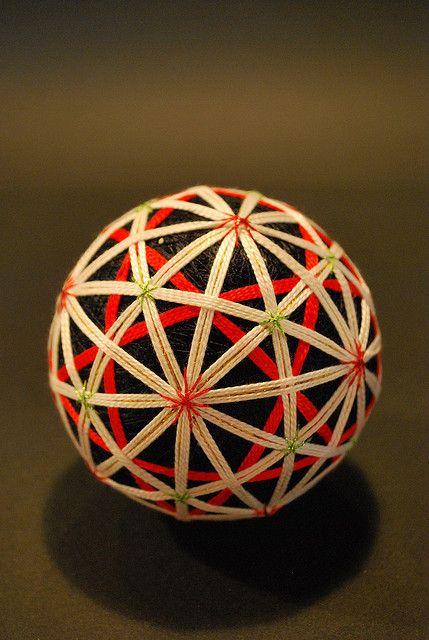 Japanese traditional handmade ball, Temari