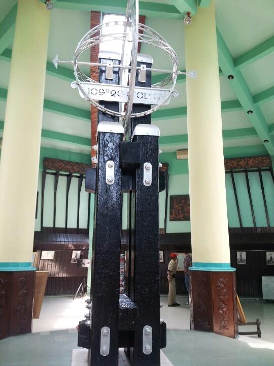 Equator monument at Pontianak, west borneo