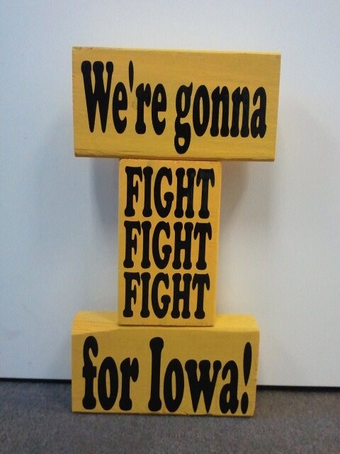 For Real? I think K needs this for her room. Littlest Big Hawkeyes fan ever.