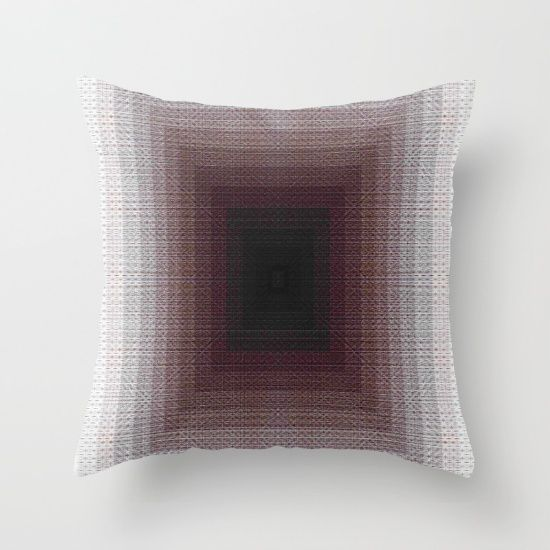 Throw Pillow, pattern, geometric