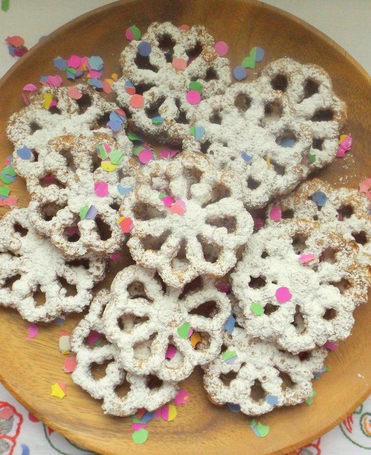 Bunuelos De Rodilla (Mexican Christmas Fritters) Recipe — Dishmaps