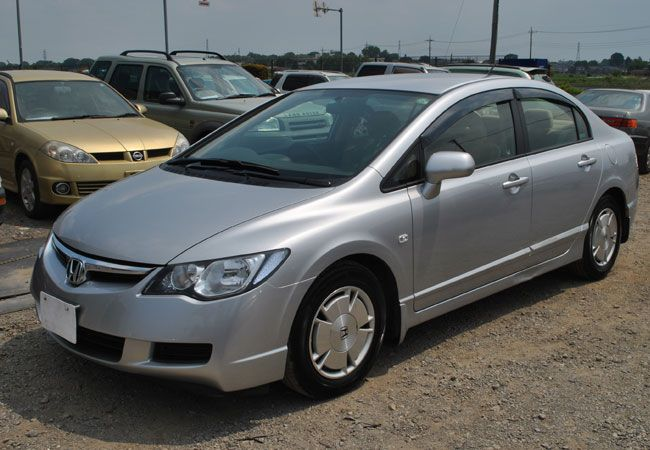 2008 honda civic hybrid chassis fd3 mileage 116000 km color silver engine 1 3 transmission. Black Bedroom Furniture Sets. Home Design Ideas