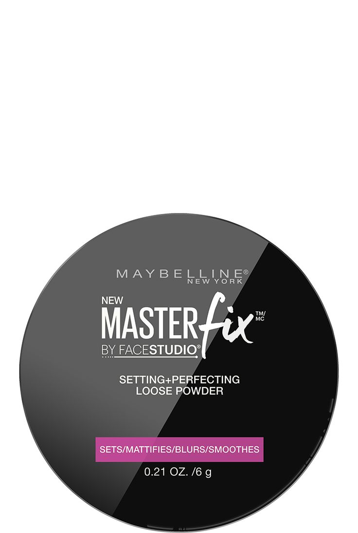 Face Studio Master Fix Setting Loose Powder by Maybelline. Translucent Powder made to mattify & smooth skin, Maybelline Powder for a perfect finish.