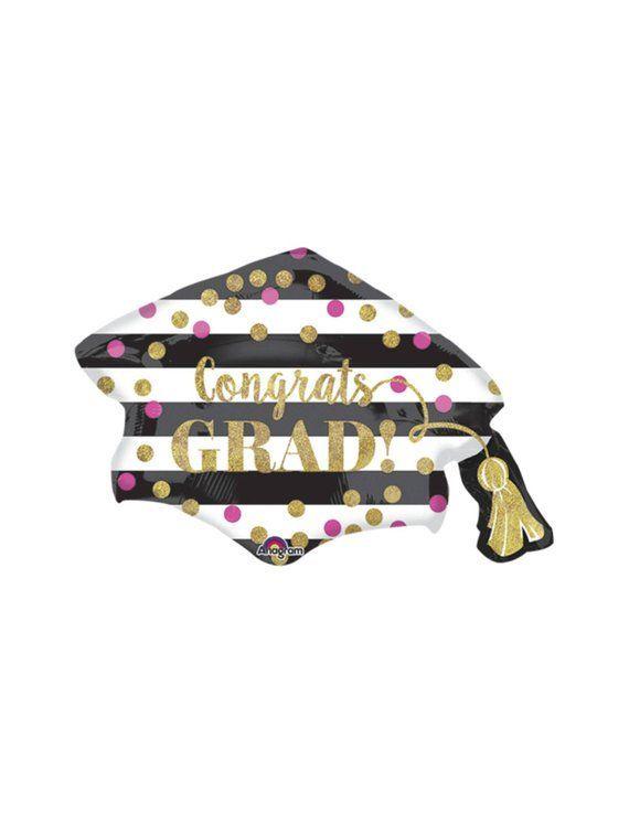 "31 ""Graduation Balloon – Graduation Party Decorations, Girl Graduation, Grade Party, Senior Party, Class of 2019, Party Supplies, Party Decor"