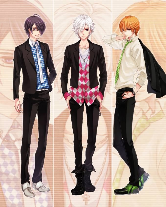 Azusa, Tsubaki & Natsume. Triplets:
