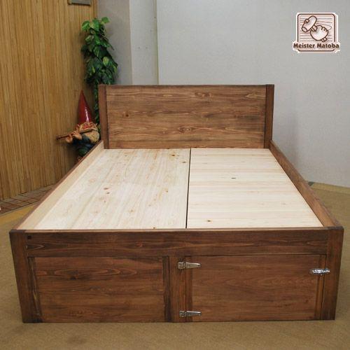 収納たっぷり オーダー収納家具ベッド