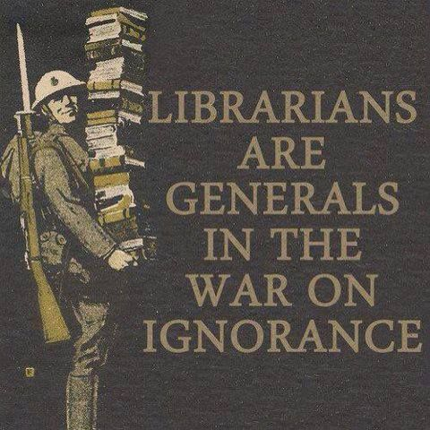 Librarians are leading the charge!