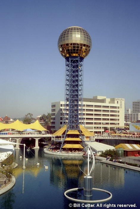 1982 World's Fair, Knoxville TN - went at least two times, maybe three.  my best friend was going to UT at the time so i had a free place to stay!  it was pretty cool