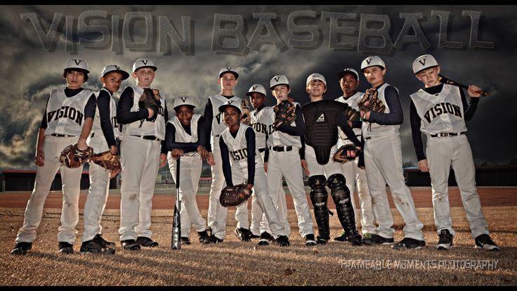 My son's baseball team banner photo