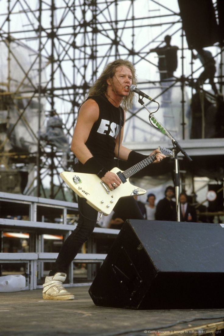 MetallicA. His shoes are pretty cool.