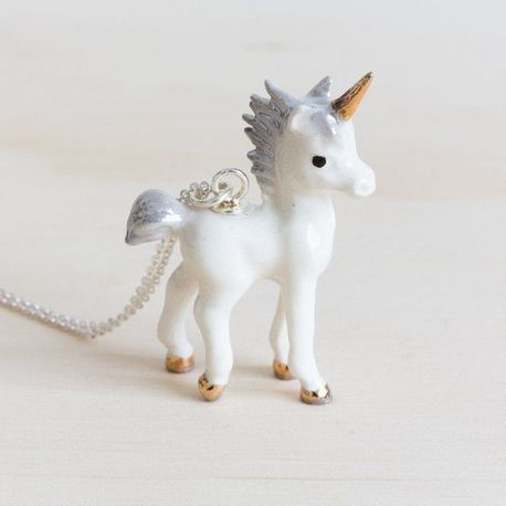 Unicorn Necklace - the absolute most cutest necklace ever