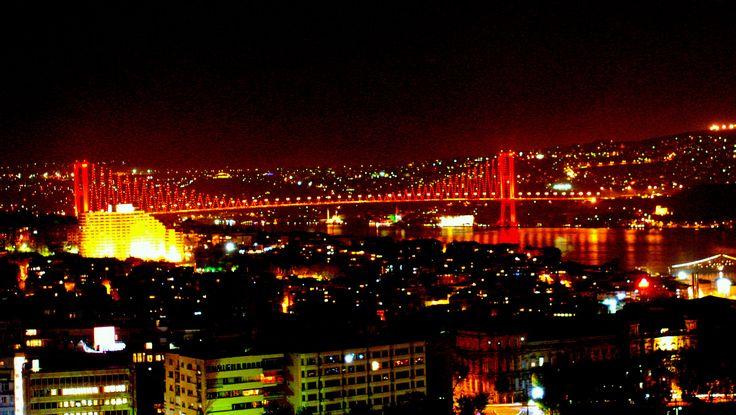 istanbul boğaziçi köprüsü