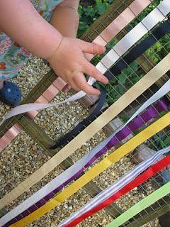 A Home-made Weaving Frame