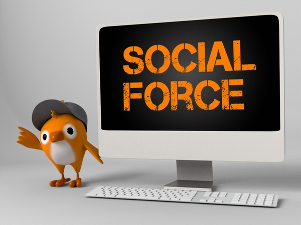 Social Force - Nextel by Andre Lopes, via Behance
