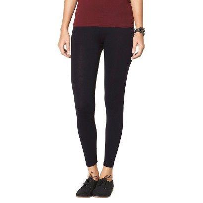 Women's Basic Leggings - Xhilaration™ - Black