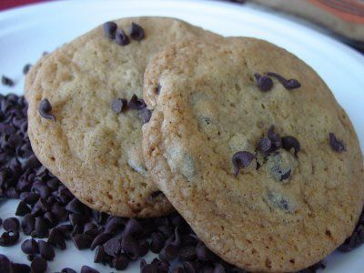 Lick The Bowl Good: Day 2- Guittard Chocolate Chip Cookies