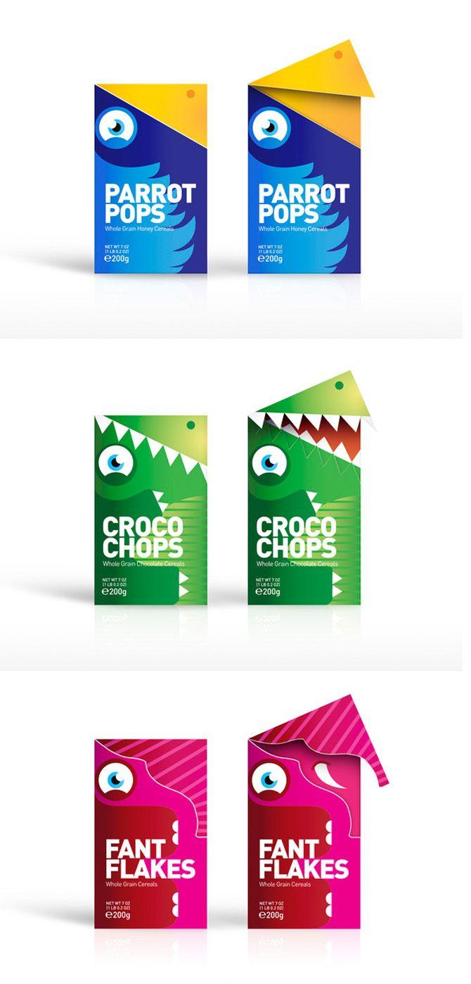 Cereal box design