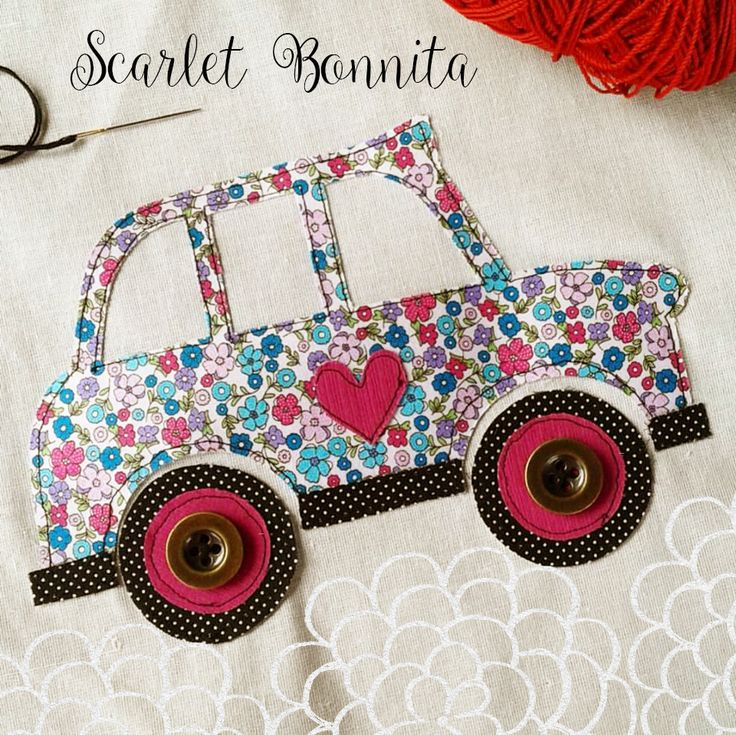 Cab Applique Vroommmm....