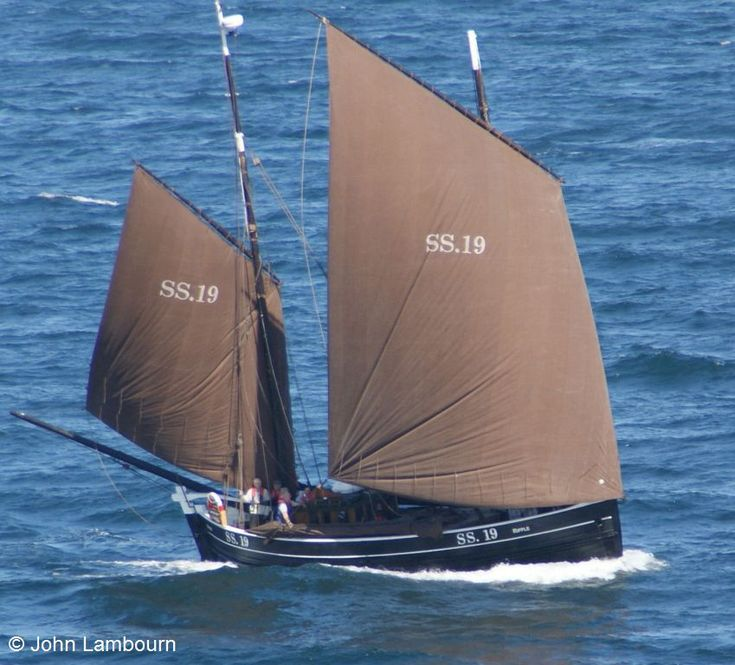 Ripple SS19 an Historic Cornish Sailing Lugger