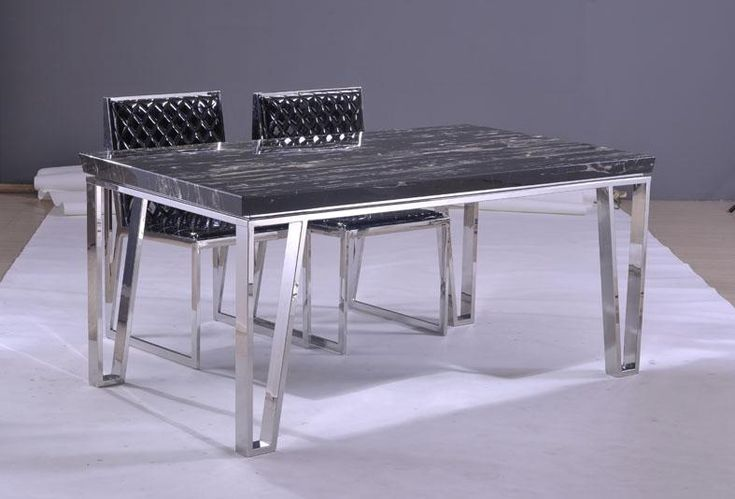 Dining table marble countertop dining table for Soapstone dining table