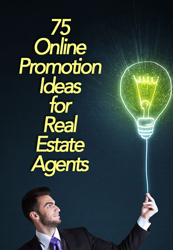 Enhance your real estate marketing with these 75 interesting ways topromote your brand online. http://plcstr.com/1KsWk1R   #realestate #marketing