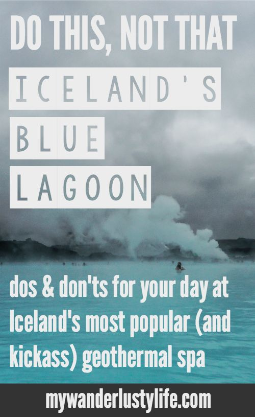 Dos and don'ts for spending the day at the Blue Lagoon outside Reykjavik, Iceland. Iceland's most popular (and awesome) geothermal spa is the country's top tourist spot and for good reason--just make sure you know what to expect (and how to treat your hair)!