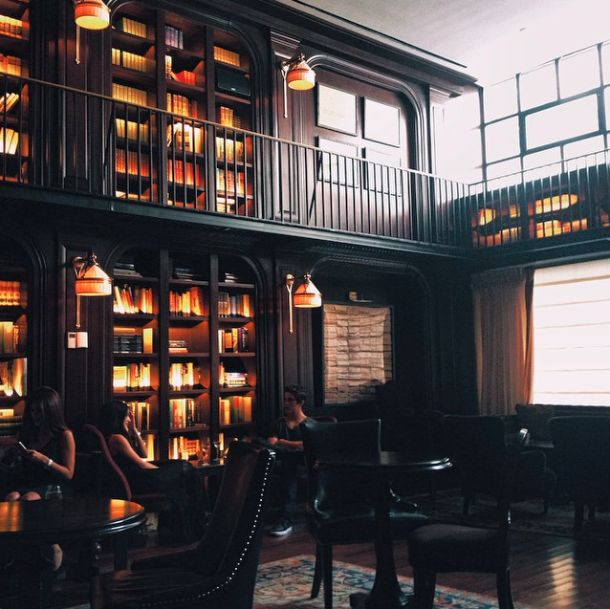 The nomad hotel nomad hotel library bar home library for Nomad hotel decor