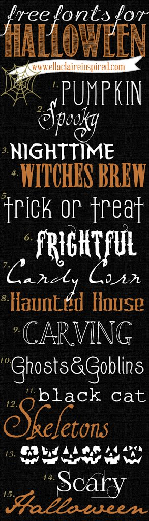 15 fabulous free halloween fonts with links to download perfect for halloween crafting projects - Good Halloween Font